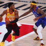 Match fou entre le Utah Jazz et les Denver Nuggets