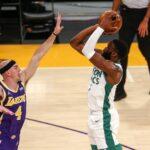 Boston arrache le classique sur le parquet des LA Lakers