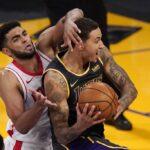 Sans leurs stars les Lakers frôlent la cata, mais Kyle Kuzma leur sauve la peau