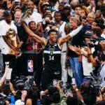 Milwaukee remporte le titre 50 ans après son 1er couronnement, Giannis MVP historique